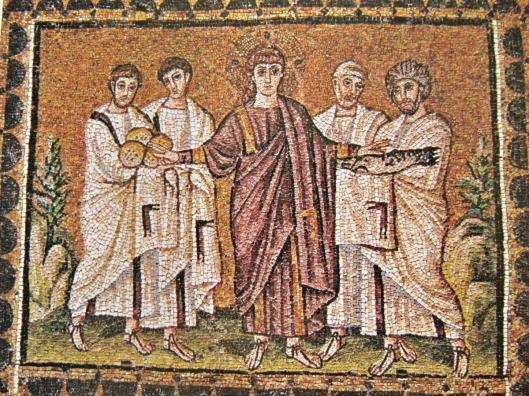 unknown-artist-the-miracle-of-the-loaves-and-fishes-st-apollinare-nuovo-ravenna-italy-6th-c